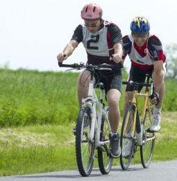 Nagykőrösön kerékpároztak a Világjátékok jegyében