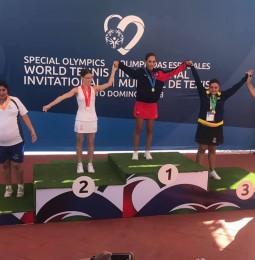 Begovics Éva ezüstérmes Santo Domingoban!