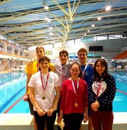 FODISZ Diákolimpián versenyzett az úszóválogatott!
