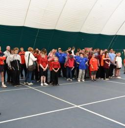 VI. Speciális Olimpia Európai Tenisz Nap a Bókay-kertben