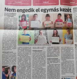 Hírünk a Kelet-Magyarország napilapban
