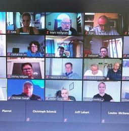 Virtuális megbeszélés Berlin jegyében