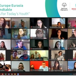 Youth Leader nemzetközi kerekasztal beszélgetés.