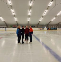 Eredményes edzőtáborban vettek részt a Téli Világjátékokra készülő műkorcsolyázók.